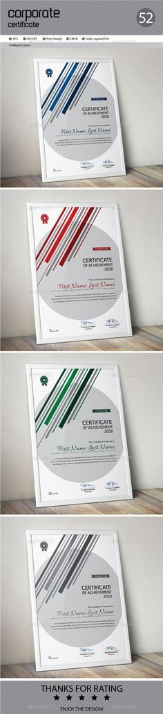 #Certificate - Certificates Stationery Download here: https://graphicriver.net/item/certificate/14520792?ref=alena994