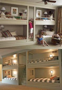 Basement Bedroom idea - Perfect for kids