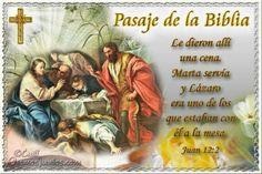 Vidas Santas: Santo Evangelio según san Juan 12:2