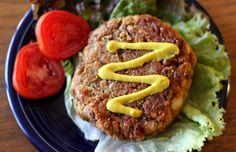 Home made veggie burgers