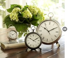 Pocketwatch clock - Style At Home: dans une chambre ou un salon, sur une table d'appoint ou une table de chevet ou même dans un bureau!
