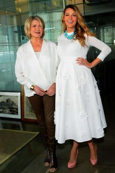 At the 2014 American Made Summit in New York City with Martha Stewart.