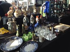 Stall at Newark antiques fair:  www.iacf.co.uk/Newark