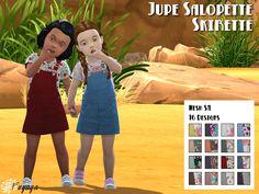 salopette jupe bambin sims 4 toddler