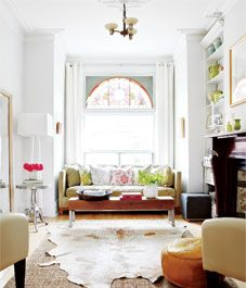 Interior: A Victorian home with global flair