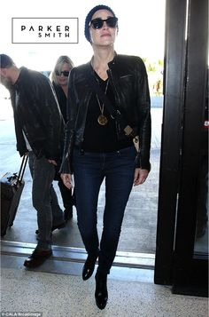 We love how Sharon Stone styles her #parkersmithjeans | Find your perfect pair at parkersmith,com