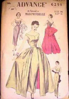 Advance 6291 - Vintage Sewing Patterns