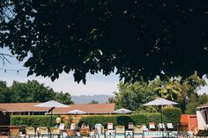 The pool at Ojai Rancho Inn - awesome hotel in Ojai, California on our road trip   Emilie Waugh Photography