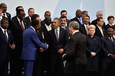 nice President Obama and world leaders meet in Paris for local weather convention