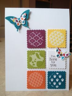 Petite Pairs, Elegant butterfly Punch, Bitty Butterfly Punch, Summer Smooches DSP - Catherine Loves Stamps