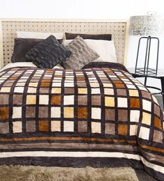 Colchas Quilting, Comforters, Bedding, Island, Quilts, Blanket, Home, Scraps Quilt, Furniture