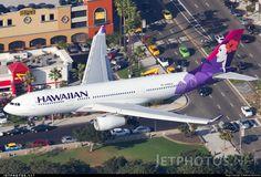 Hawaiian Airlines, Airbus A330-243 (N385HA) at Los Angeles (KLAX)
