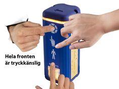 Prisma Daps från Prisma Tibro, Sweden är troligen världens mest avancerade övergångssignal. Här visas en presentation, 8 bilder med text, av funktioner och delar och deras namn… http://www.prismatibro.se/delar-funktioner-160607/