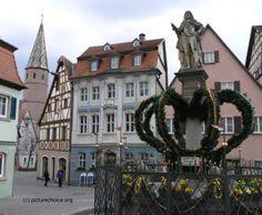 Bad Windsheim, Franconia, Germany In diesen engen Strassen habe ich meinen Fuhrerschein gemacht