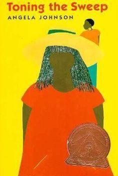 "The 1994 Coretta Scott King Author Award winner was Angela Johnson for ""Toning the Sweep."""