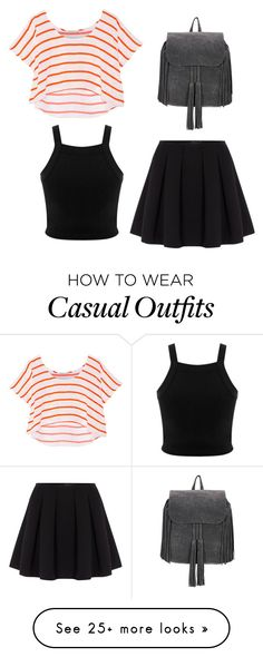 """""""Casual day"""" by rainbowcat411 on Polyvore featuring Miss Selfridge, Rebecca Minkoff and Polo Ralph Lauren"""