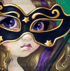 Faces of Faery #71   Art by Jasmine Becket-Griffith