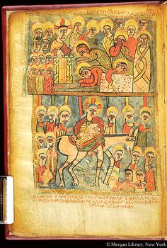 Zir Ganela Gospels, MS M.828 fol. 11v - Images from Medieval and Renaissance Manuscripts - The Morgan Library & Museum