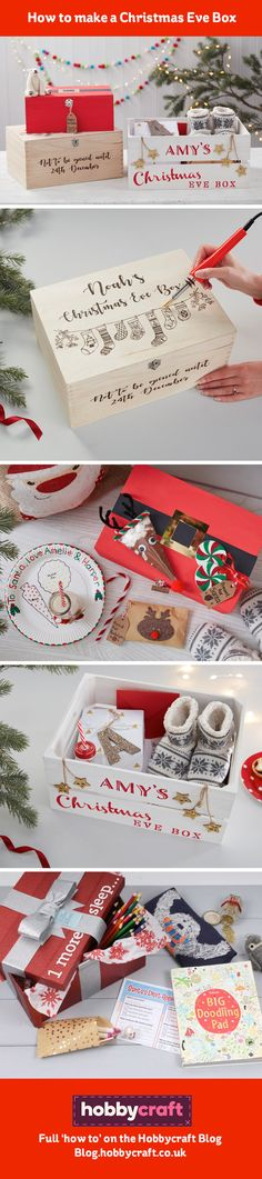 Christmas Eve boxes are the hottest festive trend right now, and for a good reason – what a great way to enjoy Christmas Eve together! If you're thinking about making your own for this special eve, take a look at our blog post for some ideas on what to do for all members of the family. #ChristmasEveBox #ChristmasEveBoxIdeas #HowtomakeaChristmasEveBox #PersonalisedChristmasEveBox