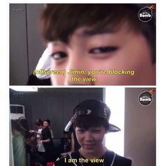 Yes, Yes You Are Lol ;') #BTS #Jimin