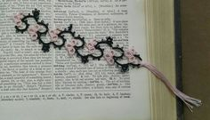 Check out this item in my Etsy shop https://www.etsy.com/listing/241322408/hand-tatted-bookmark-bookmark-book