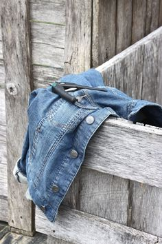 Nothing more delightful than YOUR favoirte Denim Jacket ~  It's the country girl in me!