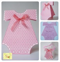 Girl Baby Shower Invitation - Invitación de Niña para Baby Shower