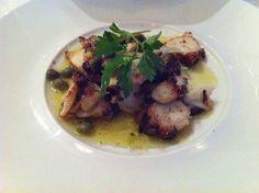 Grilled octopus from Estiatorio Milos