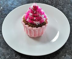 Cupcake with frosting swirl