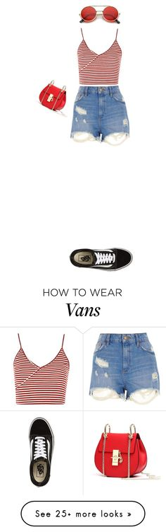 """Untitled #243"" by bbynizzle on Polyvore featuring Topshop, River Island and Vans"