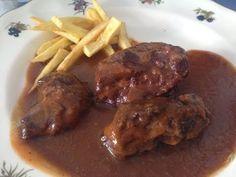 Carrillada En Salsa De Vino Tinto - YouTube Healthy Recipes, Healthy Food, Steak, Pork, Yummy Food, Beef, Make It Yourself, Chicken, Videos