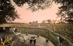 The Okavango Delta and the areas surrounding Sandibe Safari Lodge is renowned for its abundant wildlife where lions, cheetahs, leopards, red lechwe antelope and elephants are regular, roaming visitors. Wonderful Places, Beautiful Places, South African Weddings, Travel Album, Okavango Delta, Private Jet, Ultimate Travel, Amazing Architecture, Travel Pictures
