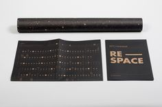 RE-SPACE CALENDAR 2013 by Dekel J. Maimon, via Behance