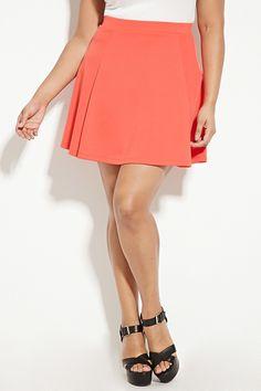 Plus Size Skater Skirt | Forever 21 PLUS - 2000168198