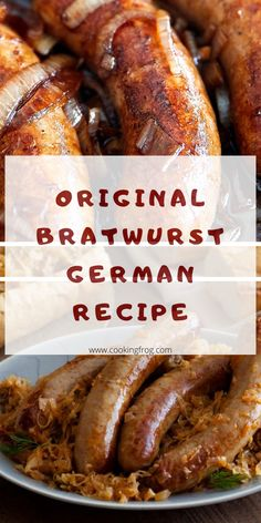 So when fall festivities like sport events and Oktoberfest come alive, I'm pleased to prepare this classic, virtually every German – American picnic or sports day: German bratwurst sausages with onions with Wisconsin spin. how to cook bratwurst, bratwurst how to cook, easy bratwurst recipes, bratwurst recipes dinners, bratwurst recipes oven, cooking bratwurst, bratwurst dinner, beer brats crockpot. #sidesforbratwurst #bratwurstrecipes #beerbrats #beerbratwurstrecipes #bratwurstoven… Bratwurst Recipe Oven, How To Cook Bratwurst, German Bratwurst, Bratwurst Sausage, Bratwurst Recipes, Sausage Recipes, Vienna Sausage, Sport Events, Recipes