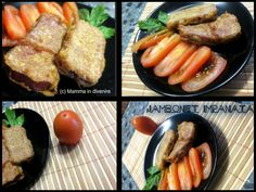 Jambonet+impanata:+un+secondo+pronto+in+quindici+minuti Mamma, Sausage, Meat, Food, Sausages, Essen, Meals, Yemek, Eten