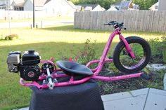 To order your R2 Gas Powered Drift Trike please call 910-939-4642. We will be happy to assist you with you custom build.