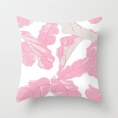 Tropicali Sunset Throw Pillow by Domesticate