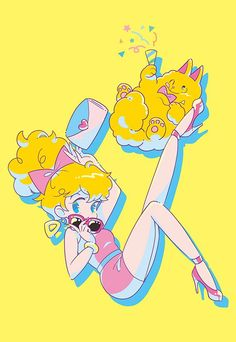 Excited to see this talented lady's work at Galaxxxy in HiFi during this Golden Week! Pretty Art, Cute Art, Psychedelic Art, Character Illustration, Illustration Art, Dibujos Cute, Pastel Art, Kawaii Art, Character Design Inspiration