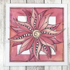 Innovative creativity from PaperArtsy. Paint, stencils, and techniques galore for any mixed media enthusiast to enjoy. Doodle Flowers, Flower Doodles, Butterfly Mask, Small Journal, Cross Crafts, Stencil Art, Adult Coloring Pages, Creative Crafts, Zentangle