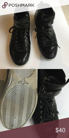 Creative recreation black patent high top sneakers Creative recreation black patent high top sneakers 9. 1/2. Men Worn a couple of times Creative Recreation Shoes Sneakers
