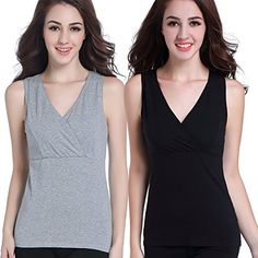 9f7b9f03e0 Under Control 3 Pack - Nursing Cami Tank Top with Build-in Maternity Bra  Pregnant
