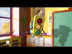 Luz verde - Las señales de tráfico, seguridad vial para niños - YouTube