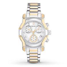 Bulova Womens Watch Diamond Accents
