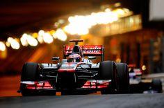 F1 GP DE MONACO, Jenson Button McLaren MP4-27