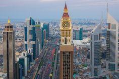 LE GEVORA HÔTEL de Dubaï est le plus haut bâtiment du monde avec ses 356m