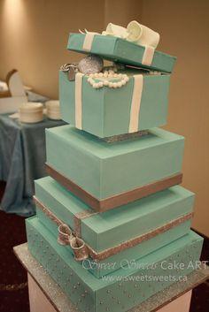 pretty things: random: tiffany's cake