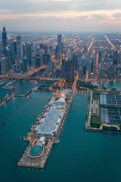 Navy Pier - Chicago, Illinois - Lake Michigan