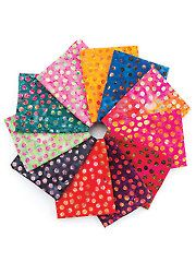 Fabric - Dots Great Balis Fat Quarters - 11/pkg. - #274120