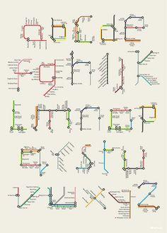 P Alphabet Design 1000+ images about Graphics- Harry Beck on Pinterest | Harry Beck ...